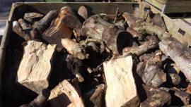 Openhaard hout
