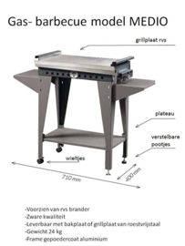 Gas barbecue Medio