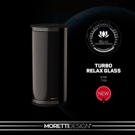 Moretti Globe Glass 7 kW en 9 kW(kanalisatie mogelijk)