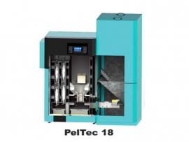 Compleet set: Pelletketel Peltec 18 L + combibuffer 500 liter