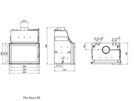 Pec Aqua 30 CV-houthaard