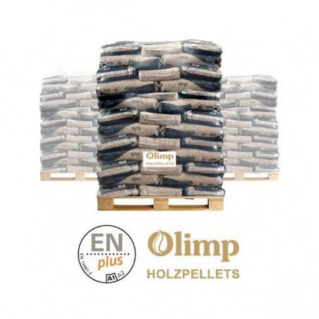 OLIMP PREMIUM   ENplus-A1 kwaliteit volle pallet  65 x 15 kg
