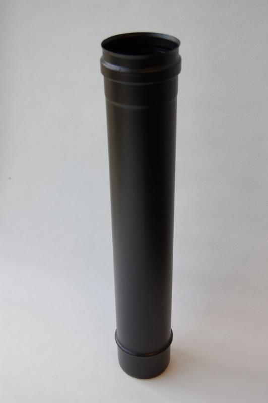 Enkelwandig pijp 1 meter (80mm)