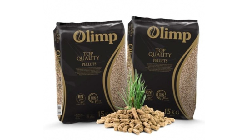 OLIMP PREMIUM   ENplus-A1 kwaliteit , without-pellets 1 x 15 kg