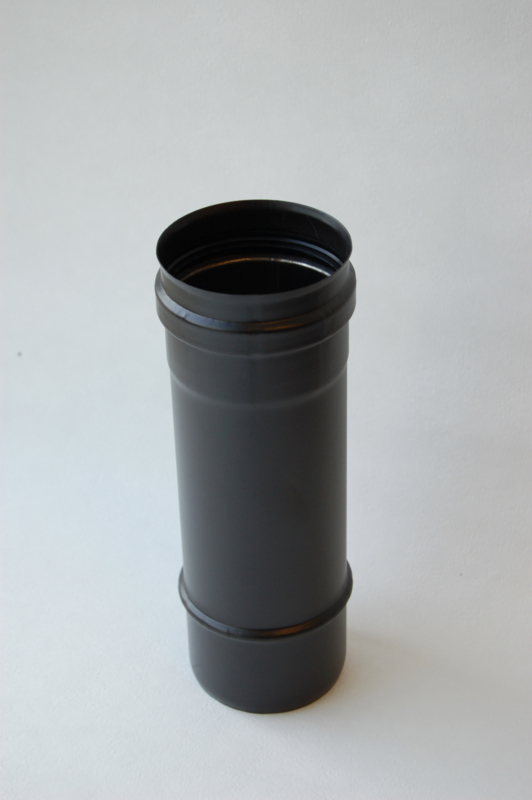 Enkelwandig pijp 25 cm  (80mm)