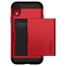 iPhone XR: Spigen Slim Case (Red)