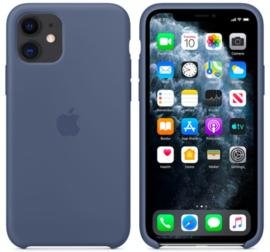 iPhone 11: Silicone case (Alaskan blauw)