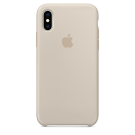iPhone XR: Liquid Silicone case (Stone)