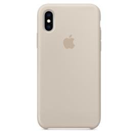 iPhone XS Max: Liquid Silicone case (Stone)