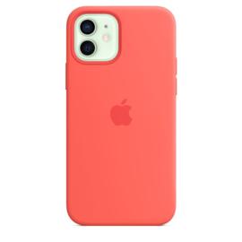 iPhone 12 / 12 Pro: Liquid Silicone Case (Citrusroze)