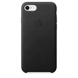 iPhone 7 / 8: Leather case (zwart)