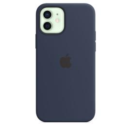 iPhone 12 / 12 Pro: Liquid Silicone Case (Marineblauw)