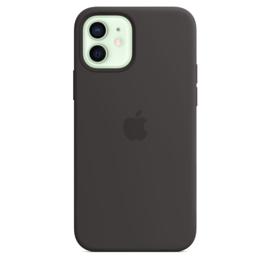iPhone 12 / 12 Pro: Liquid Silicone Case (zwart)