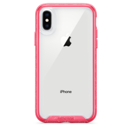 iPhone XR Otterbox Traction series (shockberry / rose)