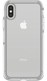 iPhone X / XS: Otterbox Symmetry series (Clear)