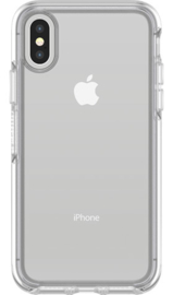iPhone XS Max: Otterbox Symmetry series (Clear)