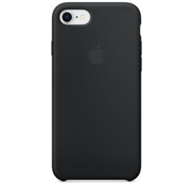 iPhone 7 / 8: Liquid Silicone case (Black)