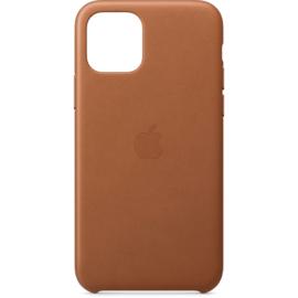 iPhone 11: Leather case (Zadelbruin)
