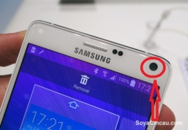 Galaxy Note 4 (N910F) reparatie: Voorcamera vervangen