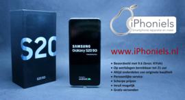 (No.1948) Samsung Galaxy S20 (5G) 128GB Cloud Blue **Open Box**