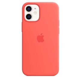 iPhone 12 mini: Liquid Silicone case (Citrus Rose)