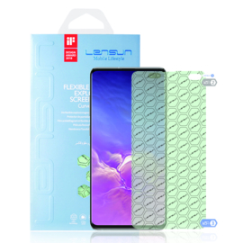 Samsung Galaxy S10 Plus: Lensun Nano explosion proof Screenprotector (Front)