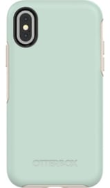 iPhone X / XS: Otterbox Symmetry series (Mint)