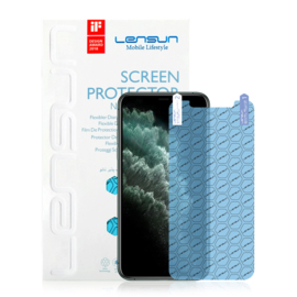 iPhone 12 mini: Lensun Nano explosion proof Screenprotector (Front)