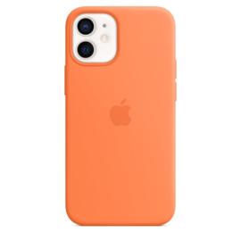 iPhone 12 mini: Liquid Silicone case (Kumquat)
