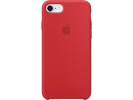 iPhone 7 / 8: Liquid Silicone case (Red)