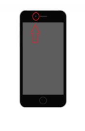 iPhone 6 Plus reparatie: Vervangen voorcamera + proximity sensor