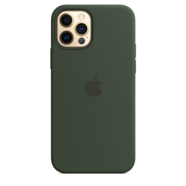 iPhone 12 Pro Max: Liquid Silicone case (Citrus Groen)