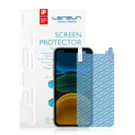 iPhone 11: Lensun Nano explosion proof Screenprotector (Front)