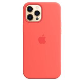 iPhone 12 Pro Max: Liquid Silicone case (Citrusroze)