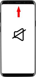 Galaxy S9 (G960F) reparatie: Oor luidspreker vervangen