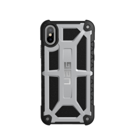 iPhone X / XS: UAG Monarch series (Zilver)