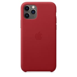 iPhone 11 Pro Max: leather case (Product)Red