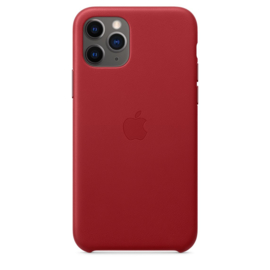iPhone 11 Pro: leather case (Product)Red