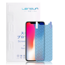 iPhone X: Lensun Nano explosion proof Screenprotector (Front)