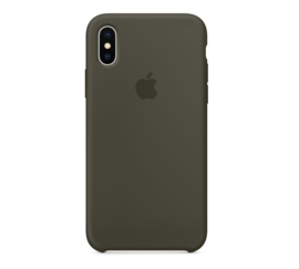iPhone XR: Liquid Silicone case (Olive)