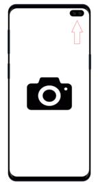 Galaxy S10 Plus (SM-G975F) reparatie: frontcamera vervangen