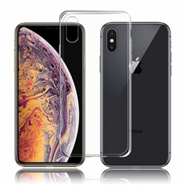 iPhone X Transparant Soft cover