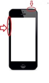 iPhone 5s / SE reparatie: Aan / Uit knop, volume knoppen