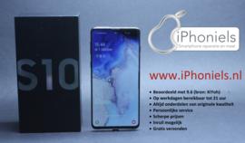 (No.1903) Samsung Galaxy S10 Prism Black **Open Box**