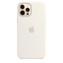 iPhone 12 Pro Max: Liquid Silicone case (Wit)