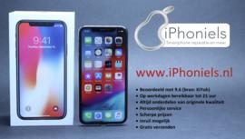 (No.1849) iPhone X 64GB Space Gray **A-Grade**