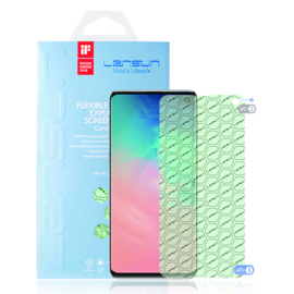 Samsung Galaxy S10 : Lensun Nano explosion proof Screenprotector (Front)