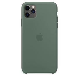 iPhone 11 Pro Max: Liquid Silicone case (Pijnboom Groen)