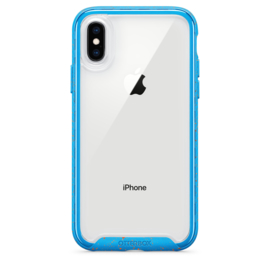 iPhone X / XS Otterbox Traction series (electric tide / blauw)