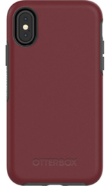 iPhone X / XS: Otterbox Symmetry series (fine port)